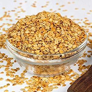 Roasted-Dhana-Dal-(Roasted-Split-Coriander-Seeds)